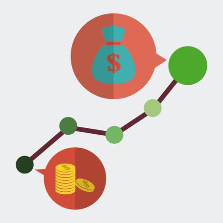 profit: profit graphic design , vector illustration