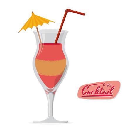 cocktail graphic design , vector illustration 版權商用圖片 - 34711855