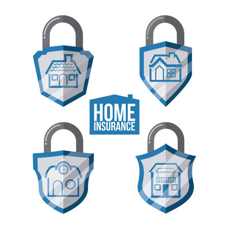 home insurance: home insurance graphic design , vector illustration