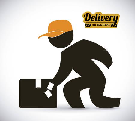 delivery  design , vector illustration Vector