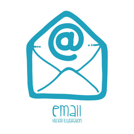 arroba: mail icon design, vector illustration eps10 graphic