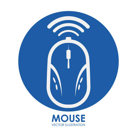 mouse icon design, vector illustration eps10 graphic Vector