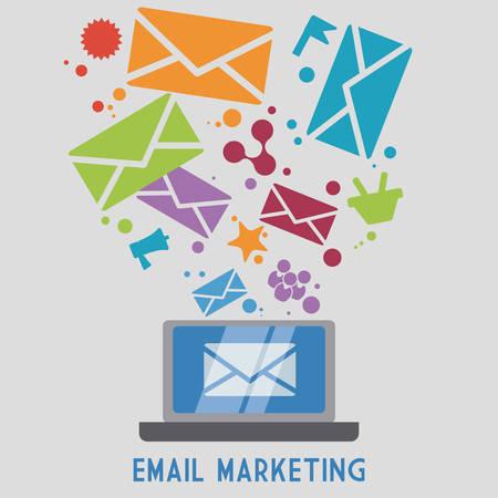 mail icon design, vector illustration eps10 graphic
