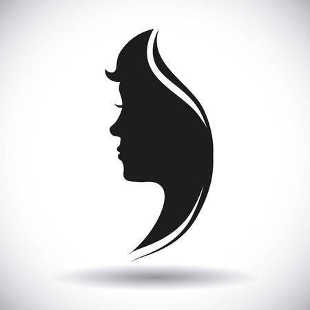 human profile design, vector illustration