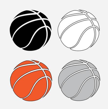 balon de basketball: dise�o del cartel de baloncesto, ilustraci�n vectorial gr�fico eps10