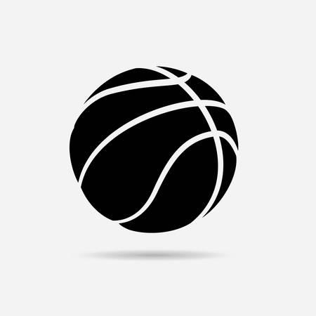 balon de basketball: dise�o del cartel de baloncesto, ilustraci�n vectorial