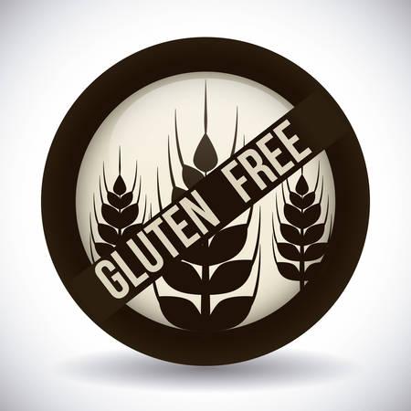 gluten free: gluten free design, vector illustration eps10 graphic