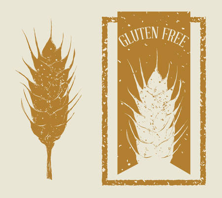 dont: gluten free design, vector illustration eps10 graphic