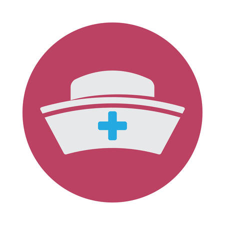 nurse hat design, vector illustration eps10 graphic  イラスト・ベクター素材