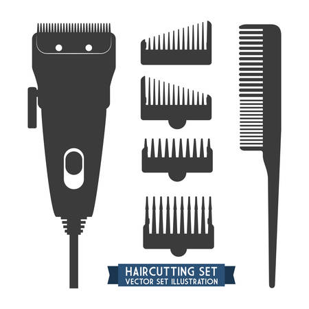 haircutting: hairdressing icon design, vector illustration eps10 graphic