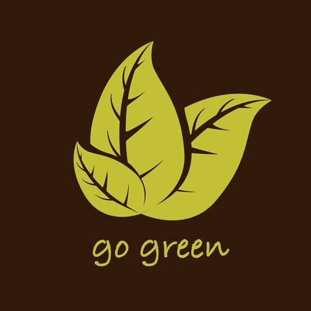 leafs background design, vector illustration eps10 graphic
