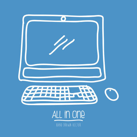 all in one design, vector illustration eps10 graphic Vector