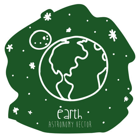 earth drawn design, vector illustration eps10 graphic Vector
