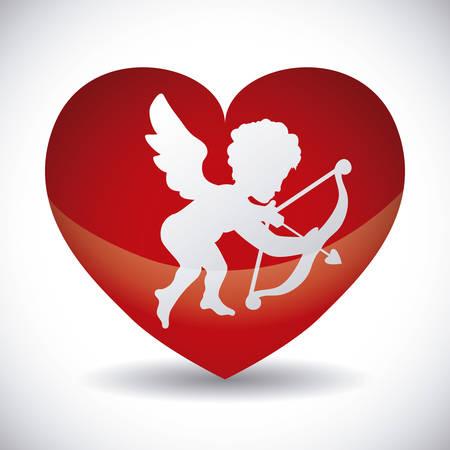 cupido: angel cupid design, vector illustration eps10 graphic