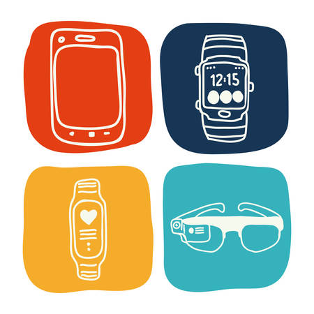 wearable: wearable design, vector illustration eps10 graphic