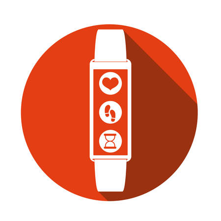 wristband: smart wristband design, vector illustration eps10 graphic