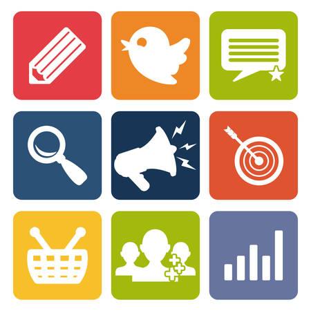social advertising design, vector illustration eps10 graphic Vector