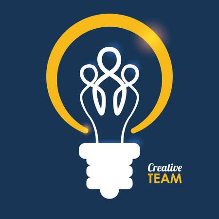 integrity: team work design, vector illustration eps10 graphic