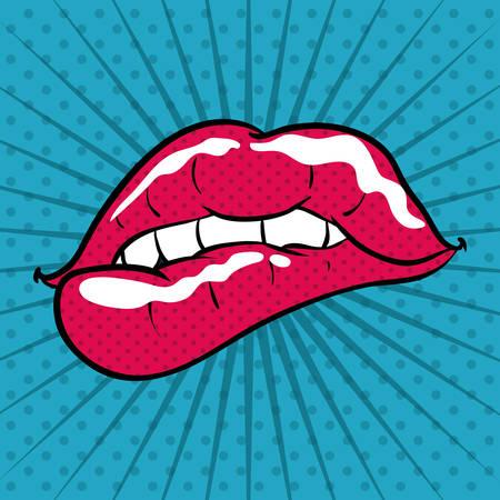 pop art design, vector illustratie eps10 grafische Stock Illustratie