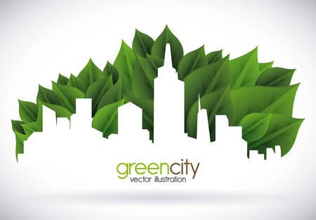 sustentabilidad: eco concepto de dise�o, ilustraci�n vectorial gr�fico eps10