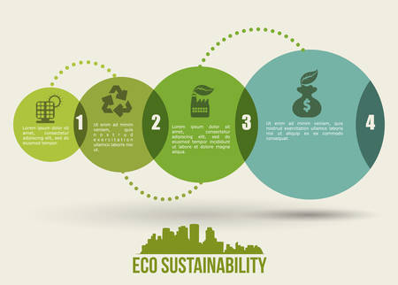 conservation: eco sustainibility design, vector illustration eps10 graphic