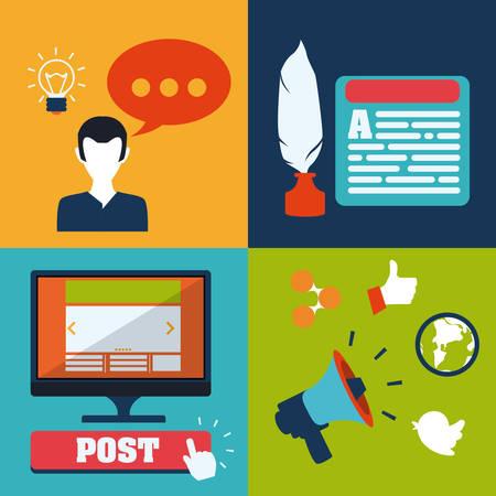 blog design: blog concept design