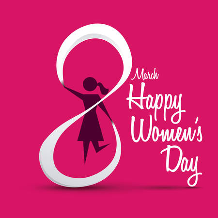 day: happy womens day design