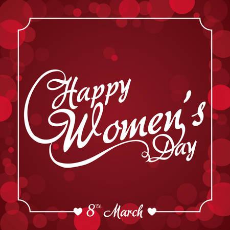 womens: happy womens day design