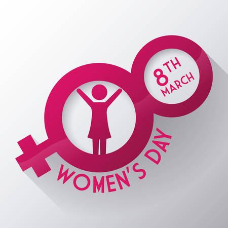 happy womens day design