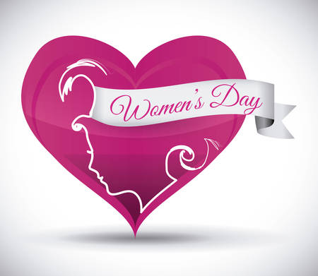 womens day: womens day design, vector illustration  graphic