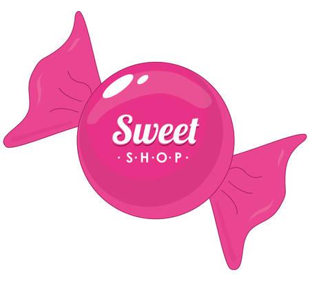 sweet shop design, vector illustration  graphic Stock Vector - 36621253