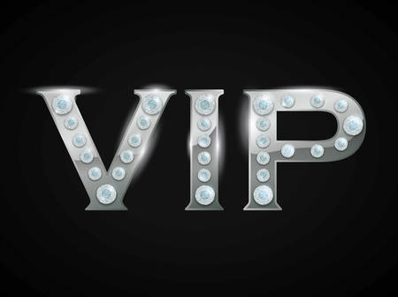 vip member design, vector illustration  graphic Vector