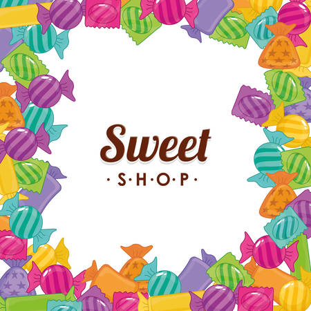 sweet shop: sweet shop design, vector illustration eps10 graphic