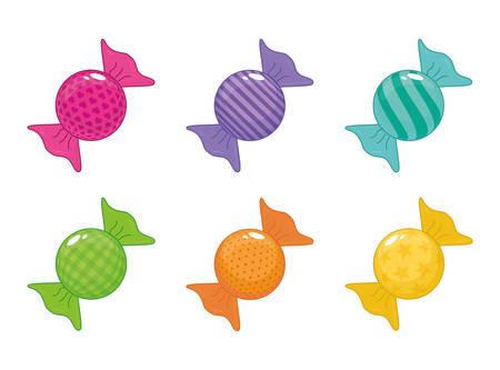 sweet shop design, vector illustration graphic