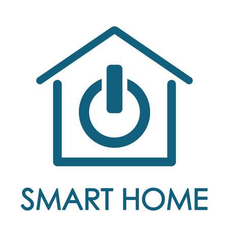 diseño inteligente del hogar, ejemplo gráfico del vector eps10