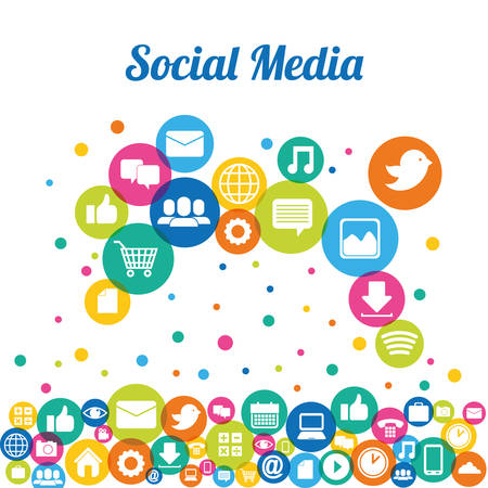 social media design, vector illustration eps10 graphic Vector