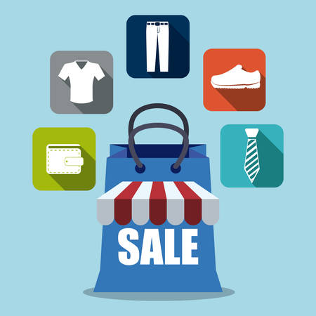 trouser: sales and retail design, vector illustration eps10 graphic