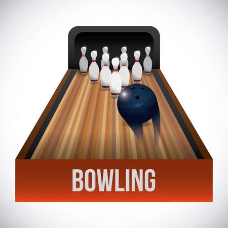bowling: bowling sport design, vector illustration eps10 graphic Illustration