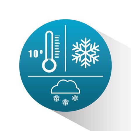 weather concept design, vector illustration. Illustration