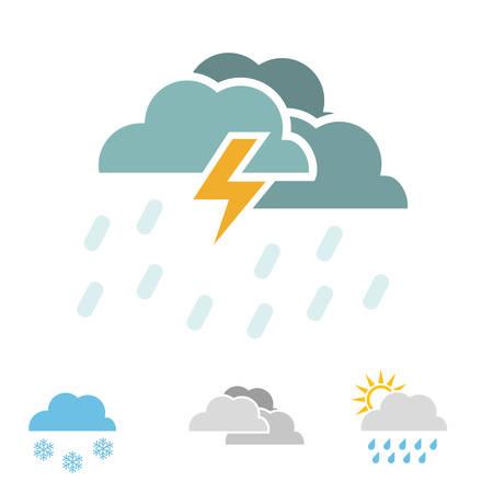 humid: weather concept design, vector illustration. Illustration