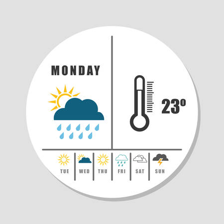 humidity: weather concept design, vector illustration. Illustration
