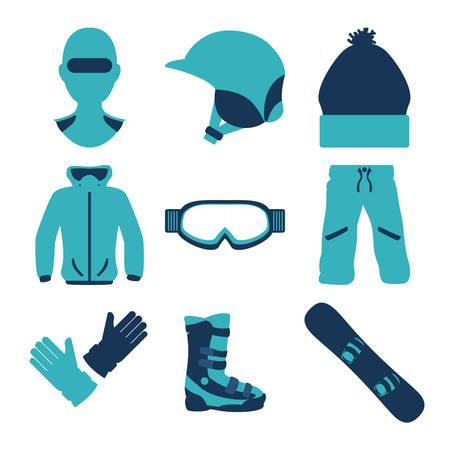 snowboarding: Snowboarding design illustration.