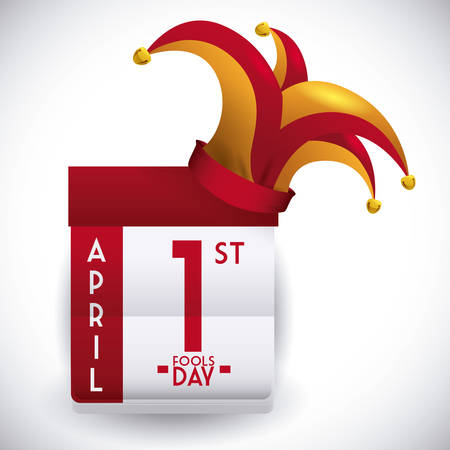 arlecchino: April Fools day design