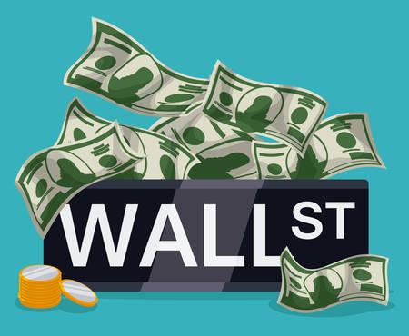 Wall Street Trader Clip Art