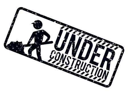 Under construction design, vector illustration. Vector