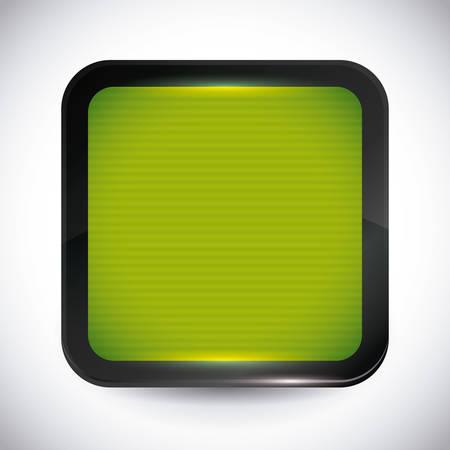 mobile apps: Mobile apps design over white background, vector illustration. Illustration