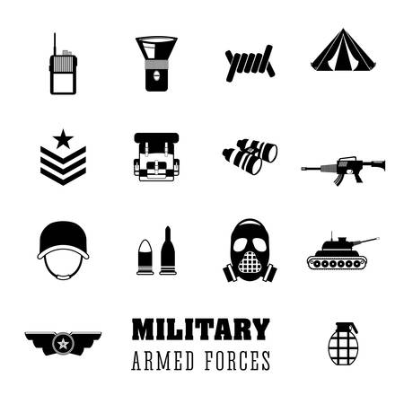american soldier: Army design over white background, vector illustration.