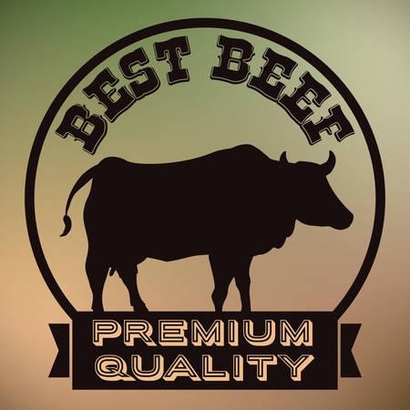 quality of life: Farm animals design over colorful background, vector illustration. Illustration