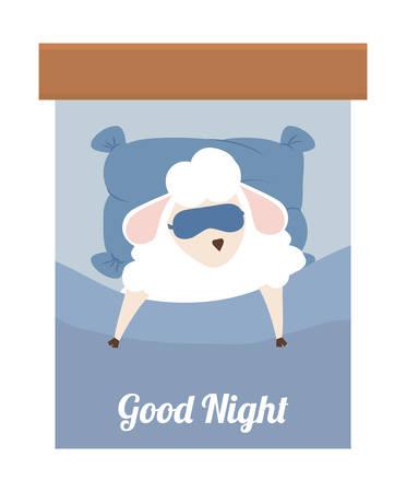 zzz: Sleep design over white background, vector illustration.