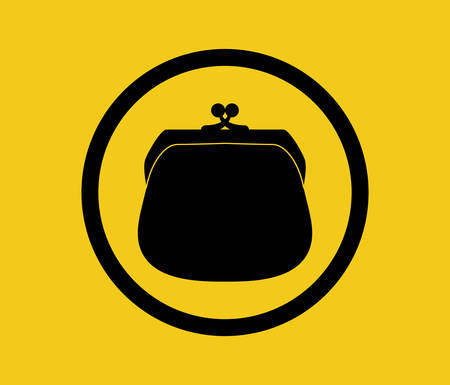 dangerous ideas: Insurance design over yellow background, vector illustration